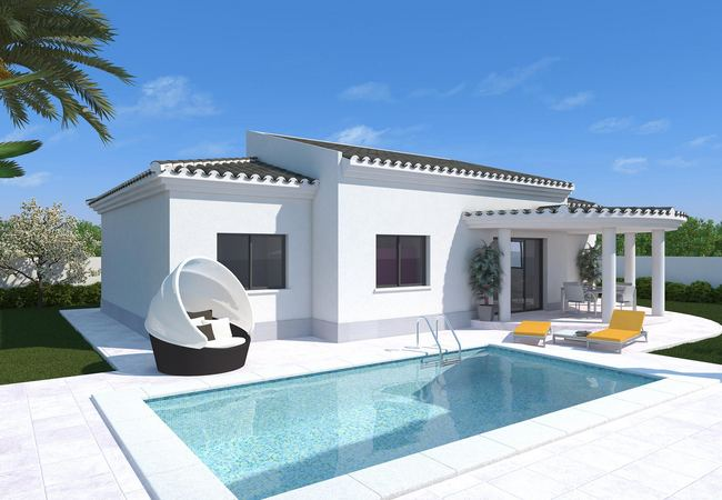 New build - Villa /House - Aspe - La Romana/Pinoso